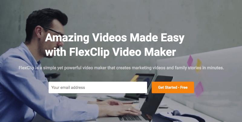 FlexClip، أداة ويب لتحرير مقاطع الفيديو